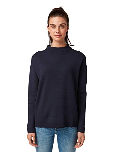 TOM TAILOR Damen Pullover & Strickjacken Pullover mit Strickmuster