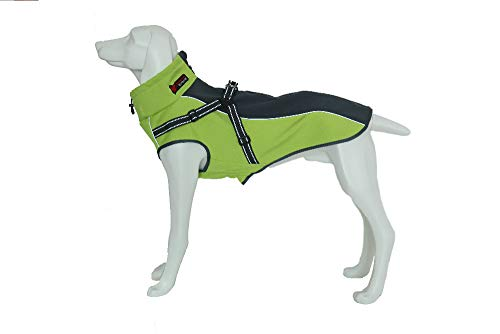 (DENTRUN Dog Vest Coat Winter Cold Weather Jacket Sweater,Pet Cats Jeans Cool Denim)