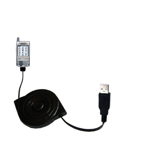 (compact and retractable USB Power Port Ready charge cable designed for the T-Mobile Treo 650 and uses TipExchange)