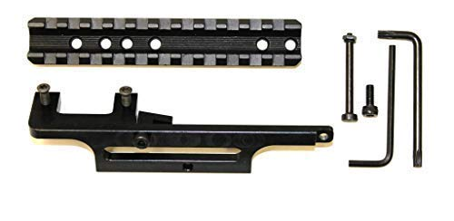 BadAce Low-Profile Picatinny Scope Rail for Lee-Enfield No4 and - Enfield Shorts
