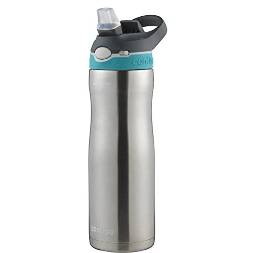 Monaco Lid Contigo AUTOSPOUT Chug Chill Vacuum-Insulated Stainless Steel Water Bottle 20 oz.
