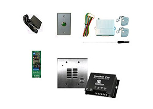 (Complete Stainless Steel Intercom Kit with Phone Release Capability for Magnetic Locks)
