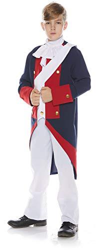 (Underwraps Little Boy's Little Boy's Revolutionary Soldier Costume Set Childrens Costume, Multi,)