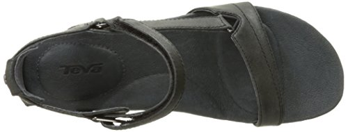 Black Women's Capri Sandal Pearlized Teva Pearlized Wedge 4YHWzq