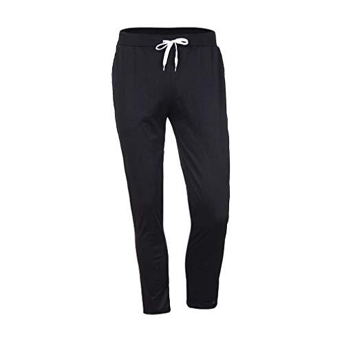 Élastique Confortables Homme Tailles Nanning Séance Noir Fitness Gym Sport Vêtements Pantalons D'entraînement Casual Exercice ZIx0ww