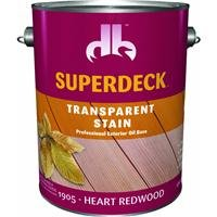(Superdeck 1905 Transparent 350VOC Stain, Heart Redwood - Gallon)