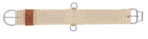 Weaver Leather Natural Blend 27 Strand Straight Smart Cinch with  Roll Snug Cinch Buckle, 28