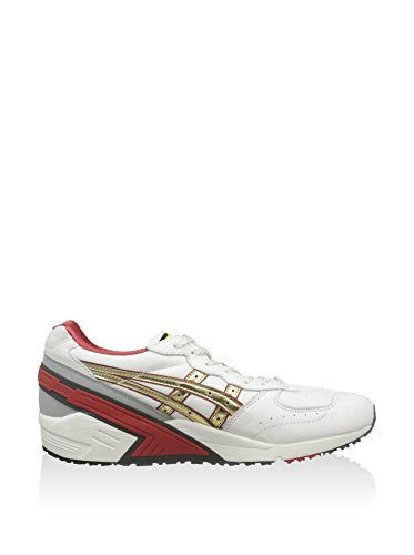 Blanco Asics 5 Roto 46 Champán Gel Sight Zapatillas EU qORwtOpr