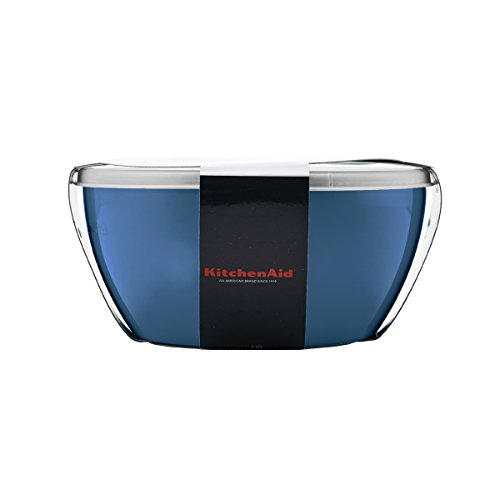 Kitchenaid Prep Bowls with Lids, Set of 4, Ocean Blue by KitchenAid (Image #4)