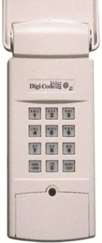 Digi Code 5200 Wireless Wireless Keypad Multi Code 4200 300 MHz