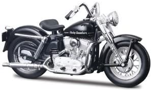Harley Davidson K Model 1952 Diecast Model Motorbike Spielzeug