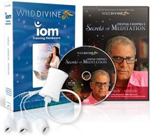 Wild Divine & Deepak Chopra's Secrets of Meditation Active Feedback Software & Hardware for PC & Mac