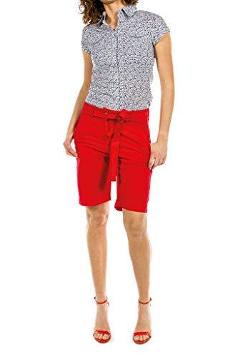 Popelín Jeans Es Color Carrera Para Tejido Mujer Liso 40 Bermudas 0wZqd6T