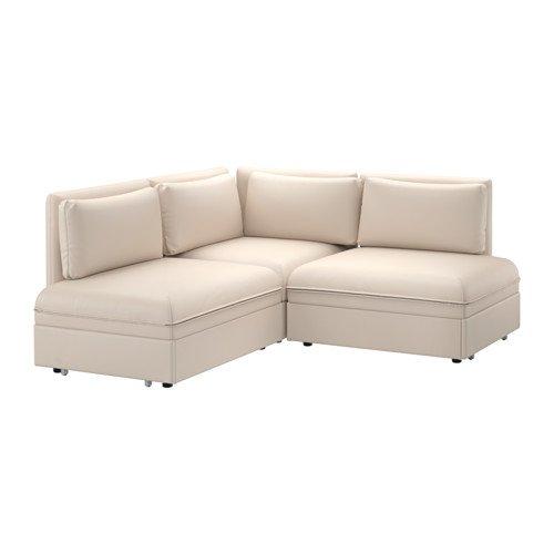 Ikea Sleeper sectional, 2-seat, Murum beige 14204.142914.382