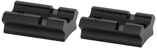 Weaver Top Mount Matte Black Base Pair - Browning A-Bolt