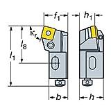 Sandvik Coromant R820D-AR18SCLC12A Slide for CoroBore 820, 2007.2 CoroPak Tool Style Code, R820.SCLC Tool Style Code