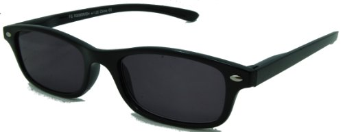 - In Style Eyes Smarty Pants Full Reader Sunglasses NOT BiFocals Black 1.25