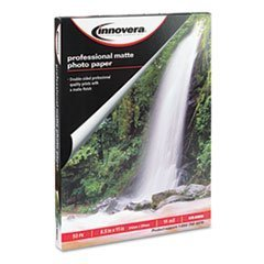 -- Heavyweight Photo Paper, Matte, 8-1/2 x 11, 50 Sheets/Pack by MOT3