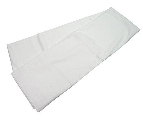 Image of Bed Linens Hotel Basics X31010 T180 Twin Sheet, 66' x 115', White (Pack of 12)