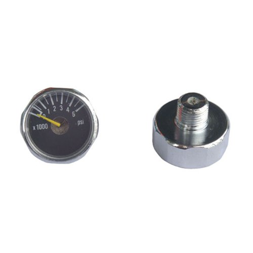 New 2x 5000 PSI Paintball Micro Gauge Free Shipping