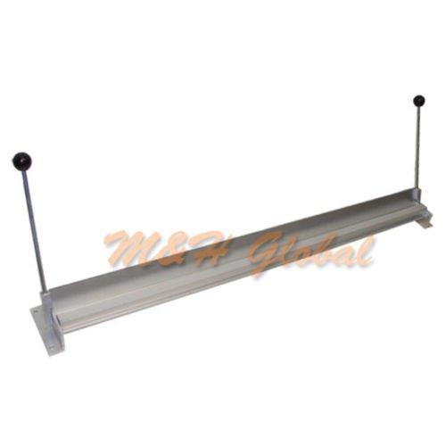 48'' Sheet Metal Bender Bending Aluminum Steel Bench Top