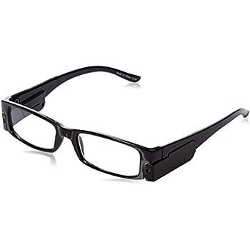 Lighted Reading Glasses 2.00 Unisex Frames