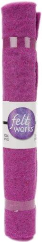 Orchid Pink Wool - Dimensions Needlecrafts Feltworks Felt, Orchid