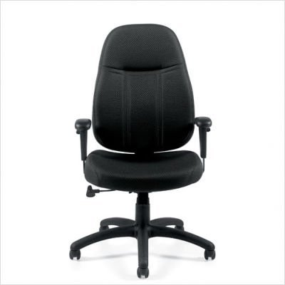 Mid Back Tilter Chair - Offices To Go Tilter Chair with Arms, 42 1/2