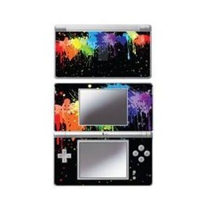 - Mightyskins Protective Vinyl Skin Decal Cover Sticker Compatible with Nintendo DS Lite - Splatter