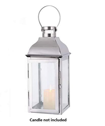 JHY Design Silver Decorative Lanterns 15