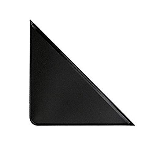 PackZen Durable Black Vinyl Adhesive Calendar Corner Protector - Case of 1600 - Made in the USA by PackZen