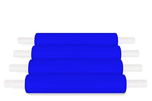 Blue Color Hand Pallet Wrap Extended Core Plastic Stretch Wrap 20