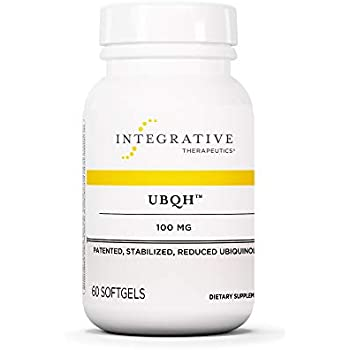Integrative Therapeutics - UBQH 100 mg - Patented Stabilized Reduced Ubiquinol - Support Cellular Energy & Overall Health - 60 Softgels
