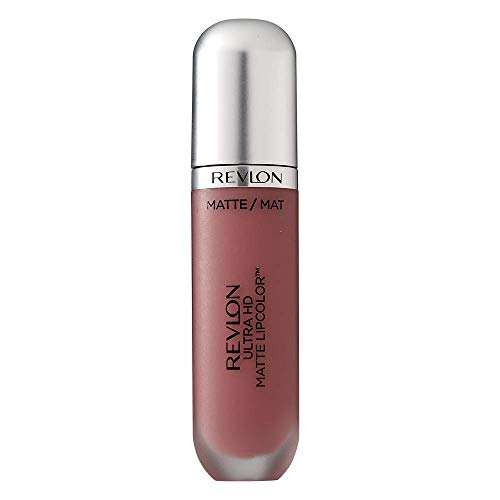 Revlon Ultra HD Matte Lipcolor, Liquid Lipstick, Kisses