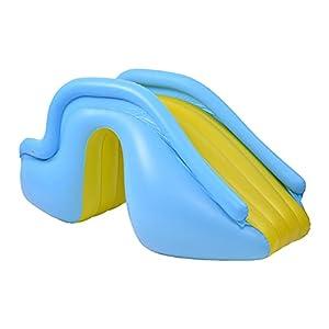yahede Tobogán Acuático Inflable para Niños Hinchable-tobogán para Piscinas Piscina Inflable Tobogán para Niños De Todas Las Edades Aire Libre Tobogán acuático para niños