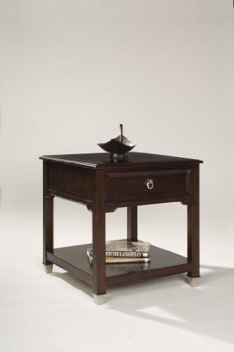 Magnussen Darien Wood Rectangular End Table