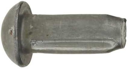 Reidl Halbrundkerbn/ägel 3 x 10 mm DIN 1476 Stahl blank 10 St/ück