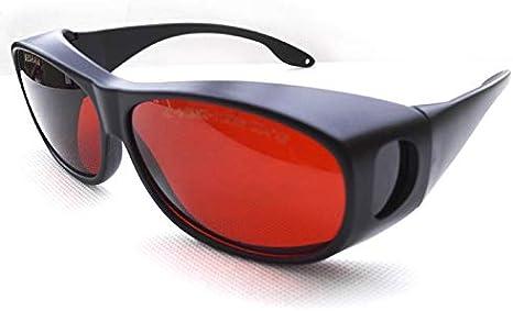 Gafas de protección láser 190 – 550 NM, 800 – 1100 NM, Longitud de Onda VLT30%, 532 NM, 980 NM, 1064 NM, 1080 NM, 1100 NM, OD4+, OD6+, protección láser