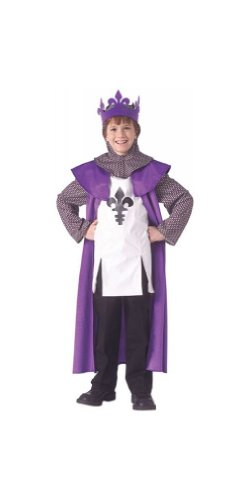 [Renaissance King Child Costume - Medium (8-10)] (Scallywag Pirate Costume)