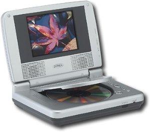 """Dynex 5"""" Portable DVD Player"""
