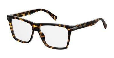Marc Jacobs Plastic Rectangular Eyeglasses 55 0LWP Crystal - Jacobs Marc Men Glasses