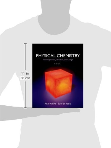 Physical chemistry thermodynamics structure and change professor physical chemistry thermodynamics structure and change professor peter atkins university julio de paula 9781429290197 books amazon fandeluxe Image collections