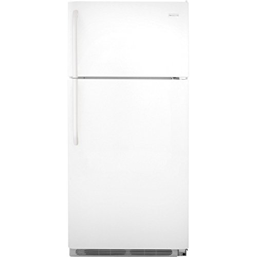 Frigidaire FFTR1814QW 18.0 Cu. Ft. White Top Freezer Refrigerator -...