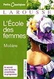 L'ecole Des Femmes (Petits Classiques) (French Edition), Moliere, 2035834171