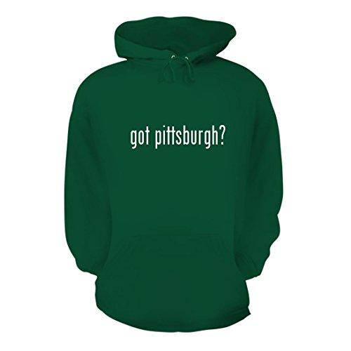 got pittsburgh? - A Nice Men's Hoodie Hooded Sweatshirt, Green, - Airport Pittsburgh Map