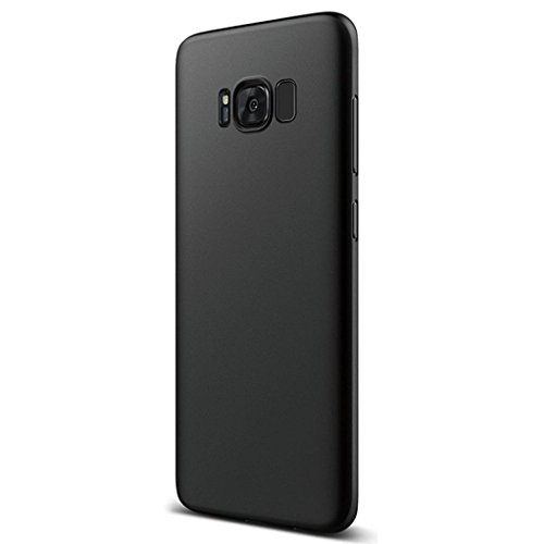 Price comparison product image Mchoice Luxury Ultra-thin Slim Silicone Soft TPU Case Cover for Samsung Galaxy S8 (Black)