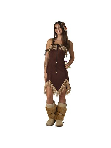 Indian Princess Costume - Teen Small (Chief Indian Princess Costume)