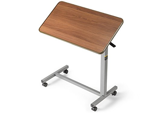 Hospital Bed Standard Invacare - Hospital Overbed/Over Bed Tilt Top Table/Computer Tray