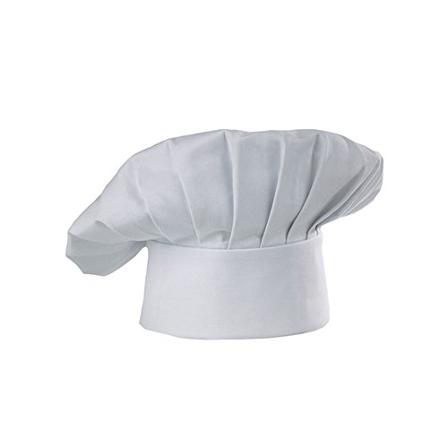 Dog Chef Hat (Chef Hat LUCKY DOG Traditional Chef Hat Chef Works Cooking Hat One size)