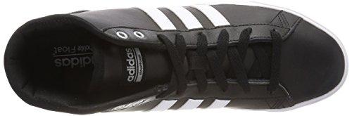 Qt Noir Chaussures Argent Noir Des Salut Mi Blanc noyau Baskets Mat Adidas Cloudfoam Femmes Quotidienne vH7wxwIqR